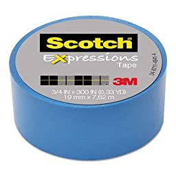 3M Expressions Magic Tape, 3/4\