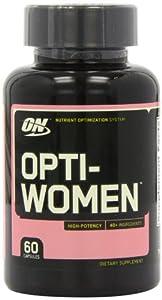 Optimum Nutrition Opti-Women, Women's Multivitamin, 60 Capsules