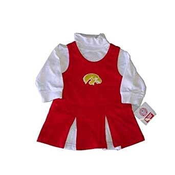Amazon Iowa Hawkeyes NCAA Baby Infant Cheerleader
