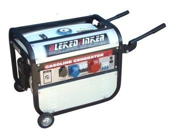 Generatore di corrente 2300W - 220/380V avviamento elettrico con ruote