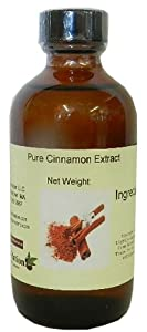 OliveNation Pure Cinnamon Extract 4 oz,