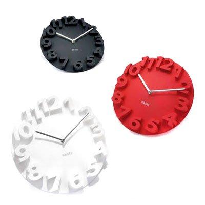 3D Big Digit Modern Design Wall Clock Home Decor front-743697