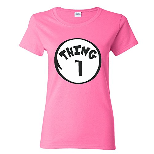 Thing 1 Women T-shirt Halloween Ladies top
