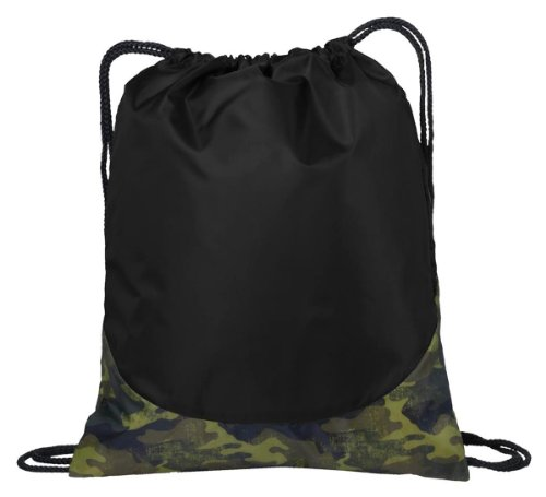 Port Authority Patterned Drawcord Cinch Pack_Camouflage_One Size