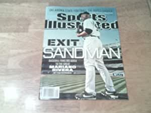 Sports Illustrated - September 23, 2013 - Exit Sandman, Mariano Rivera