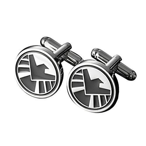 MGS Men's Cufflinks The Avengers Justice League Superhero Marvel DC Comics Suit Shirt Wedding Gift