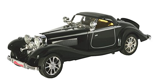 Toyzstation 500k Old Vintage Remote Control Car Scale 1:20 (Black)