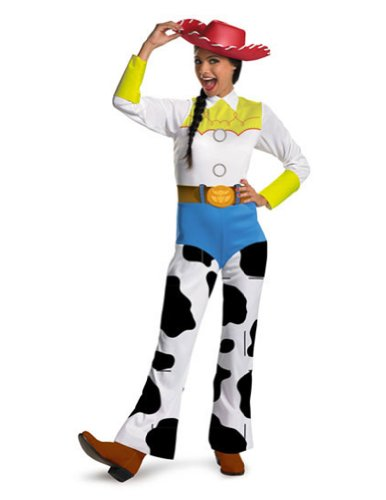 Adult-Costume Toy Story Jessie Adult Md Classic Halloween Costume