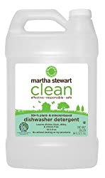 Martha Stewart Clean Dishwasher Detergent, 64-Ounce Bottles (Pack of 6)