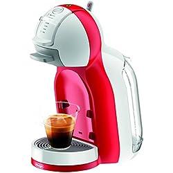 NESCAFÉ DOLCE GUSTO Mini Me White&Red EDG305.WR De'Longhi, Edizione Festa della Mamma, Macchina per caffè espresso e altre bevande, Automatica,