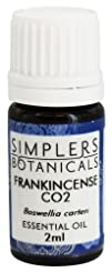 Simplers Botanicals  Essential Oil Frankincense CO2  2 ml.