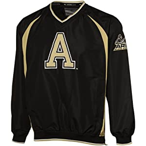 NCAA Army Black Knights Black Hardball Pullover Jacket