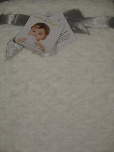 Blankets & Beyond Soft Swirl White Blanket