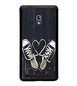 Love Laces 2D Hard Polycarbonate Designer Back Case Cover for Asus Zenfone 5 A501CG :: Asus Zenfone 5 Intel Atom Z2520 :: Asus Zenfone 5 Intel Atom Z2560
