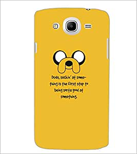 PrintDhaba Quote D-5342 Back Case Cover for SAMSUNG GALAXY MEGA 5.8 (Multi-Coloured)