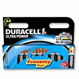 Brand New. Duracell Ultra Power MX1500 Battery Alkaline 1.5V AA Ref 81235502 [Pack 12]