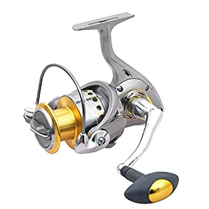 Spinning Reel Light Weight Ultra Smooth Powerful 1000-5500 Series Spinning Fishing Reel Freshwater Spin Reels