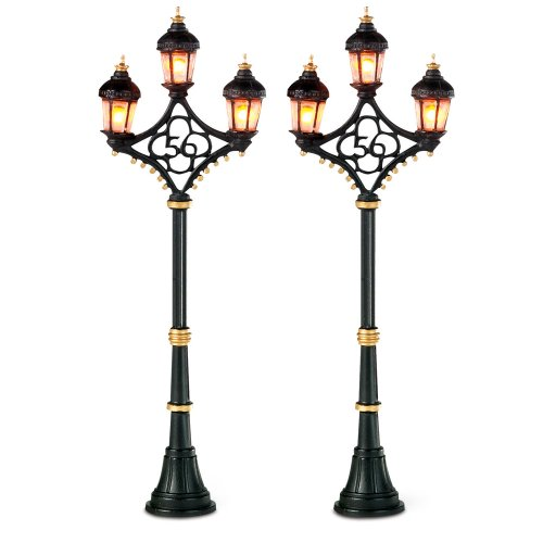 Department 56 Fifty-Six Street Lghts Set Of 2
