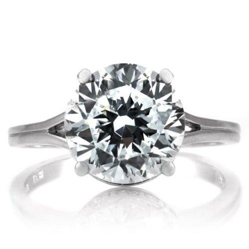 Shanta's 3.5 CT CZ Engagement Ring