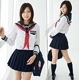 cosmicrider大きいサイズ清純派女子高生セーラー服LサイズXL制服(XL)