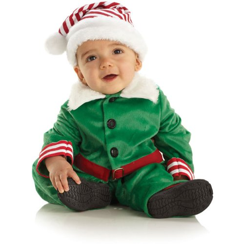 Baby Elf Infant / Toddler Costume (As Shown;2 to 4)