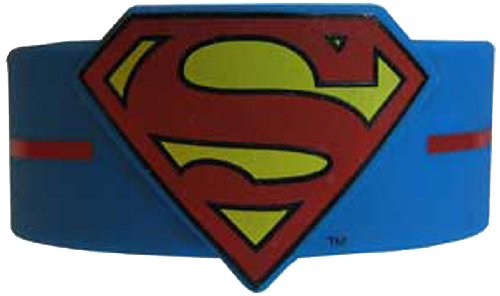 Licenses Products DC Comics Originals Superman Logo Wristband