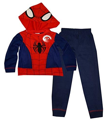 marvel-spiderman-garcons-long-length-nouveaute-dress-up-capuche-amovible-pyjama-2-8-ans
