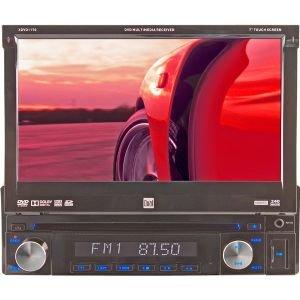 "7"" Single-Din Touchscreen Led Monitor Am/Fm/Dvd Multimedia Receiver"