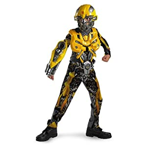 Transformers: Revenge of The Fallen Bumblebee Deluxe - Size: Child M(7 - 8)