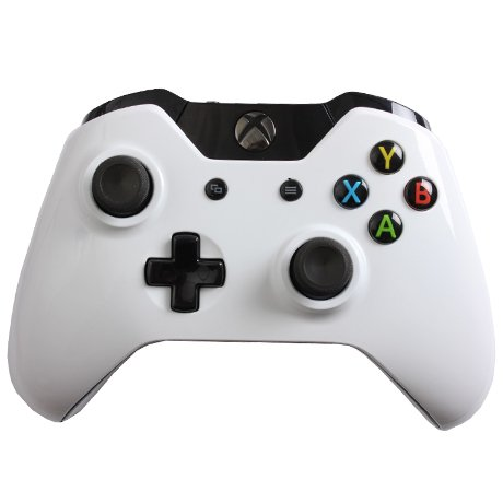 Glossy White Custom XBOX ONE Controller Xbox One White Console Sunset Overdrive