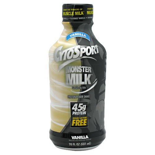 Cytosport Monster Milk Rtd Vanilla - 12 - 20 Fl Oz (591 Ml) Bottles