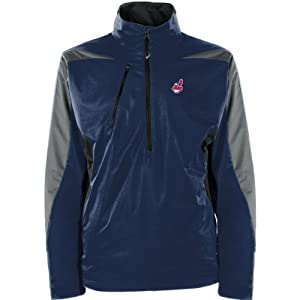 MLB Cleveland Indians Mens Discover Jacket by Antigua