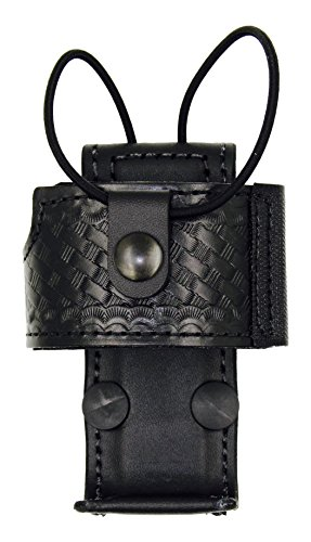 Aker Leather 588U-XTS3000 Universal Radio Holder, Black, Basketweave, Fits Motorola XTS 3000 (Radio Belt Holder compare prices)