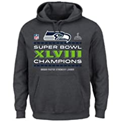 Seattle Seahawks 2013 Super Bowl Champs Locker Room Championship Hooded Sweatshirt by VF