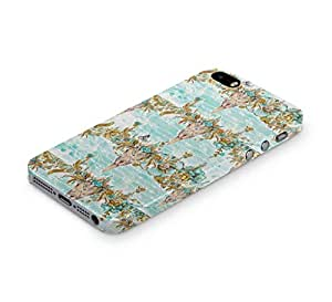 Cover Affair Floral / Flower Printed Back Cover Case for Apple iPhone 5S