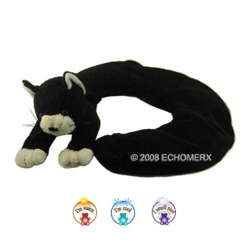 Aroma Kitty Collar Wrap - Aromatherapy Stuffed Animal - Hot And Cold Therapy