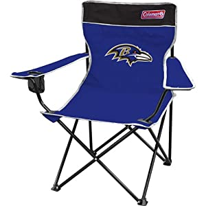 NFL Baltimore Ravens Coleman Folding Chair With Carrying Case