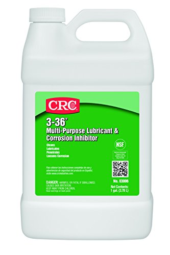 crc-3-36-multi-purpose-lubricant-and-corrosion-inhibitor-1-gallon-bottle-clear-blue-green