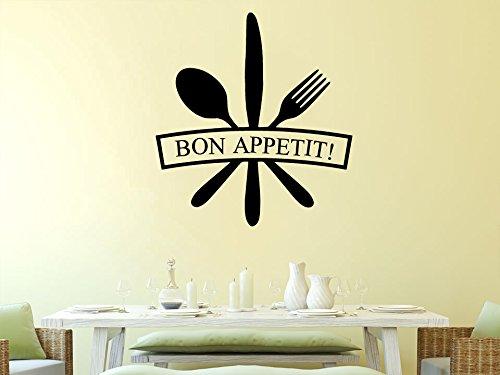 Wall decal vinyl sticker decals art decor design kitchen for Dining room vinyl wall art