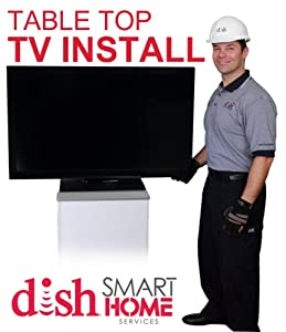 Premium TV Set-up (On-stand) by Dish