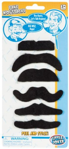 Toysmith Fake Moustaches