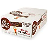 The Good Bean Fruit And No-Nut Bar, Chocolate Berry,Gluten And Nut Free, 40-Gram (Pack Of 10)