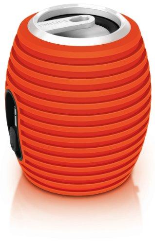 Philips Sba3010/37 Soundshooter Portable Speaker (Orange)