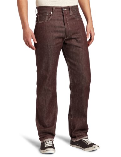 Levi'S Men'S 501 Colored Rigid Shrink-To-Fit Jean (Clearance), Bbq, 34X32 front-641337