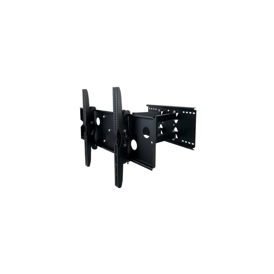 Strong Plasma and LCD TV Dual Arm Articulating Wall Mount for 42 Inch