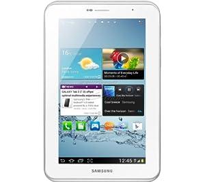 Samsung Galaxy Tab 2 P3100 3G+WIFI Tablet (17,8 cm (7 Zoll) Display, 1GHz Prozessor, 1GB RAM, 16 GB Speicher, 3,2 Megapixel Kamera, Android) weiß