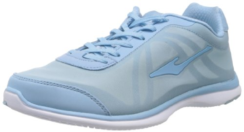 Erke Women Lake Blue Mesh Running Shoes  4.5 UK