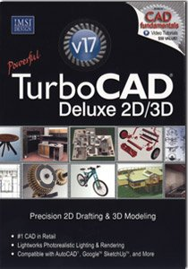 TurboCAD Deluxe V17 - 2D/3D CAD Design (Award-Winning