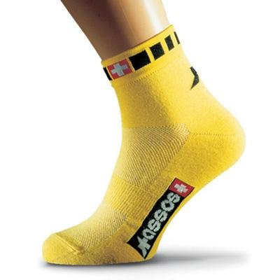 Assos 2012 Spring/Fall Coolmax Cycling Socks - Yellow - P13.60.605.30