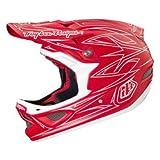 TroyLee D3 Composite Helmet Pinstripe II Red Medium 56-57cm